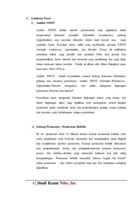 Sepatu Gats Tangerang tugas paper manajemen pemasaran studi kasus nike inc