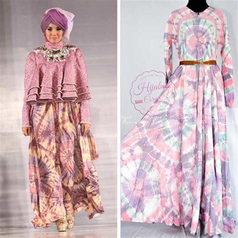 gamis batik desain dian pelangi umbrella dress dian pelangi model gamis terbaru gaya