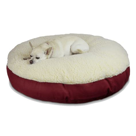 round dog beds replacement cover snoozer round pillow dog bed snoozer
