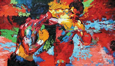 Home Decor For Cheap Wholesale by 24x41inch Epro By Leroy Neiman Rocky Vs Apollo Home Wall