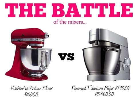 Kenwood Titanium Major vs KitchenAid Artisan ? Style Scoop
