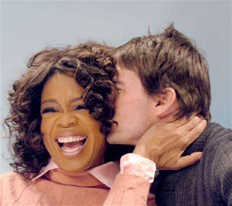 Oprah Has Been Shut Out Of The Cruise Wedding by Harpo Productions Picket Tom Cruise Oprah Winfrey