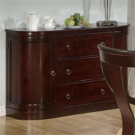 coaster cresta 101185 brown wood buffet table in los