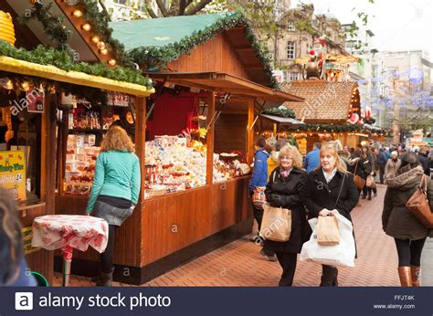 A New Way Of Shopping With Marketplace shopping at the stalls birmingham market