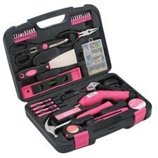 Everyday Tool Kit In Pink Or Blue by Apollo 135 Pink Tool Set Canadian Tire
