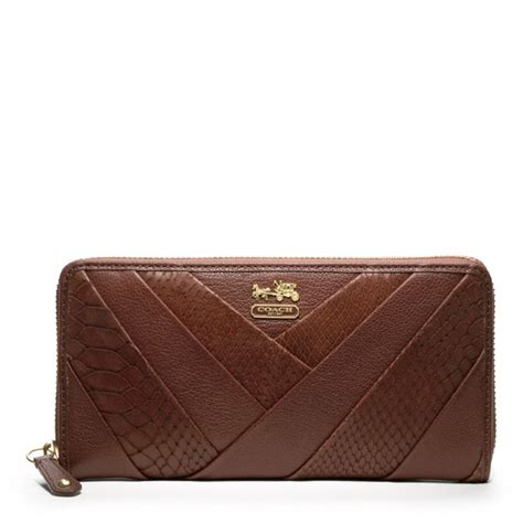 Other Designers Sang A Pleated Python Evening Clutch by Coach Diagonal Pleated Accordion Zip In