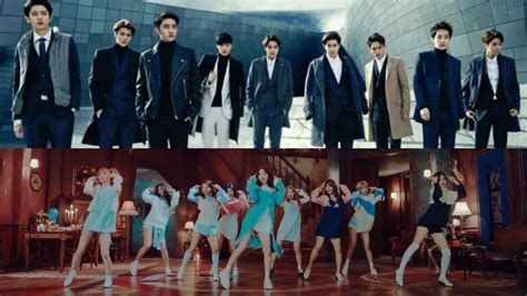 exo and twice exo twice and more revealed as second lineup for 2016