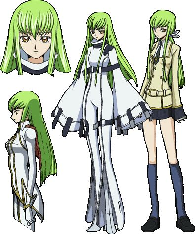 C Anime Characters by C C Code Geass Lelouch Of The Rebellion Absolute Anime