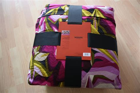 missoni comforter nwt missoni for target king comforter and sham set zig zag
