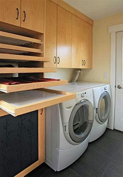 Simple Laundry Room Space Saving Tips Flats Built Ins Space Saving Laundry
