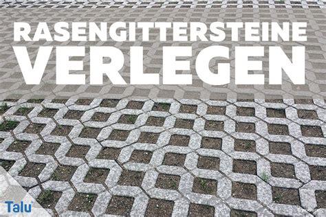 Rasengittersteine Kunststoff Verlegen 2321 by Rasengittersteine Verlegen Diy Anleitung Talu De