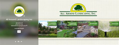 all around landscaping inc the belford