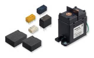 relays panasonic industrial devices