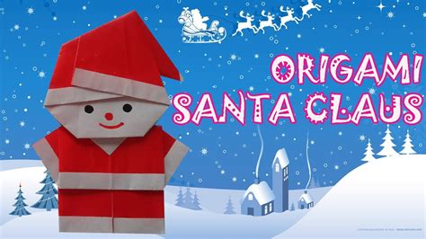 How To Make Santa Claus Out Of Paper - origami santa claus origami easy doovi