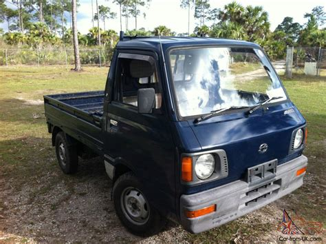 subaru mini pickup 1987 subaru sambar mini truck 4x4 kei japanese pick up truck