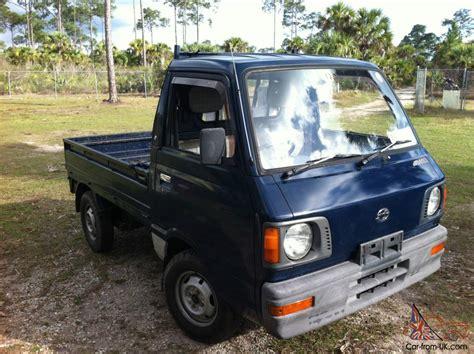 subaru mini truck 1987 subaru sambar mini truck 4x4 kei japanese up truck