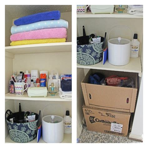 bathroom closet organization ideas hometalk organizing a small bathroom space
