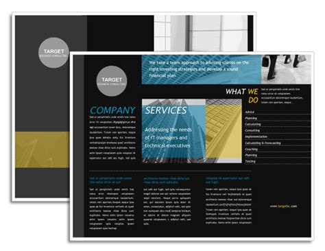microsoft office brochure template ms office brochure template free invitations ideas