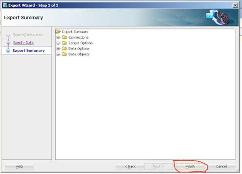 gambar format give memindahkan data dari database oracle ke database selain