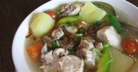 membuat kaldu ayam beku resep untuk membuat sup ayam cara dan resep memasak
