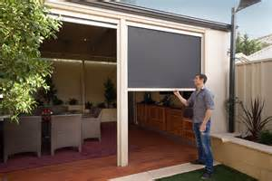 Solar Shades For Patio Ziptrack Blinds Melbourne Shadewell Awnings Amp Blinds