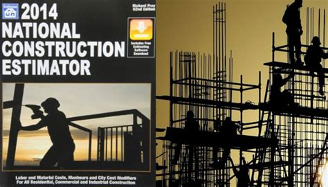 national construction estimator 2018 includes free estimating software books national construction estimator 2014 construction