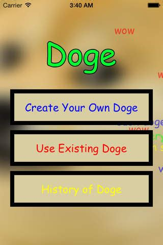 Make Your Own Doge Meme - doge create your own shibe doge memes ios