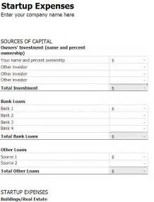 startup financials template small business start up costs excel worksheet business