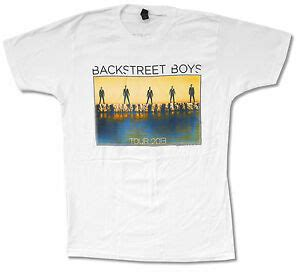 White T Shirt 2013 by Backstreet Boys Quot Sunset Tour 2013 Quot White T Shirt New Official Bsb World Ebay