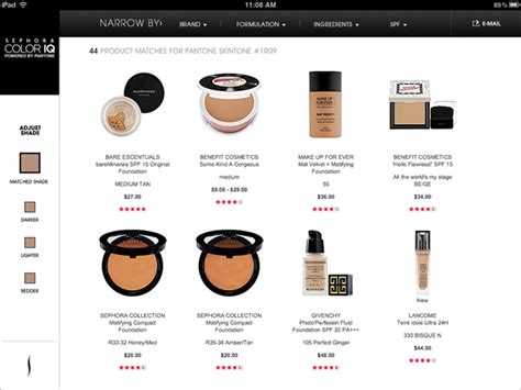 sephora color iq chart sephora pantone color iq musings of a muse