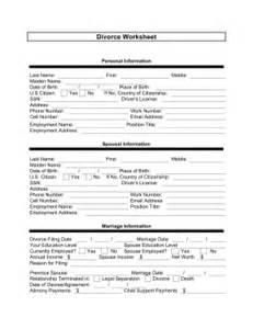Divorce Template Free by Divorce Template Free Printable Documents
