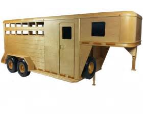 horse trailer approx  inches woodworking plan
