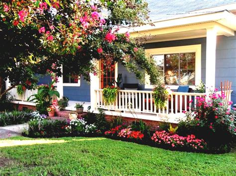 simple landscaping ideas for around house the home design