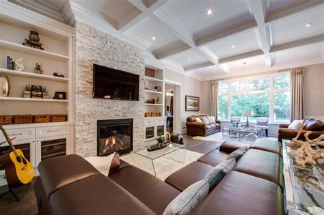 build a living room custom build home traditional family room toronto