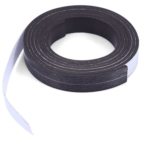 Rubber Magnet 10 x 1 5mm 1m self adhesive rubber magnet roll ius ebay