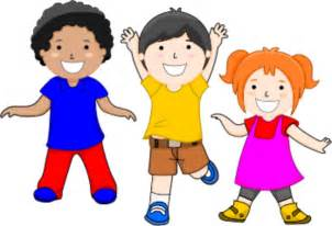 Children Smiling   vector Clip Art