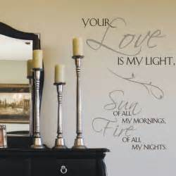 Love Quotes Wall Stickers Your Love Is My Life Wall Sticker Quotes Olpos Design