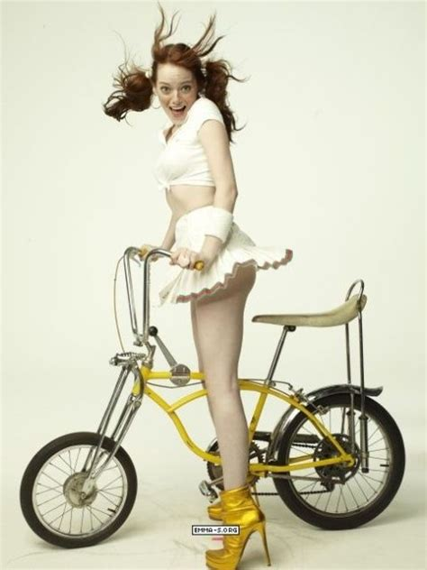 emma stone gq emma stone for gq magazine i want to ride my bicycle