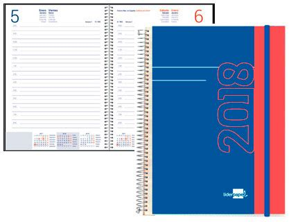 agendas de oficina agendas 2018 material de oficina asturalba