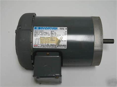 marathon electric motor 1 1 2 hp 460v 3 phase 72260071