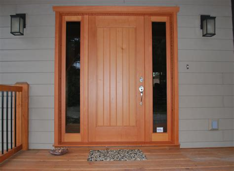 Handmade Oak Doors - custom wood doors saratoga woodworks craftsman style