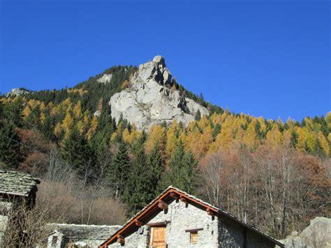 Di Bec il bec di roci ruta una guglia tra i boschi di conifere monti e valli cai torino