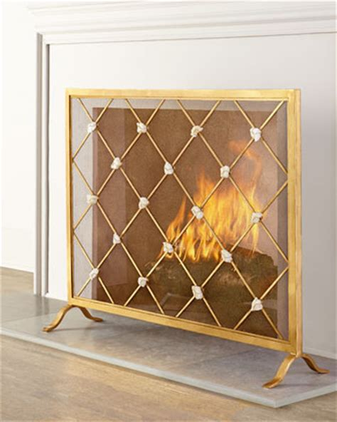 Gold Fireplace Screens by Gold Fireplace Screen Archives S