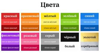 colors in russian color vocabulary journal russian