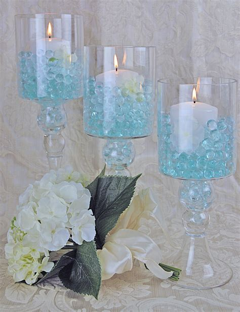 Glass Pillar Candle Holders by 3 Glass Pillar Candle Holders