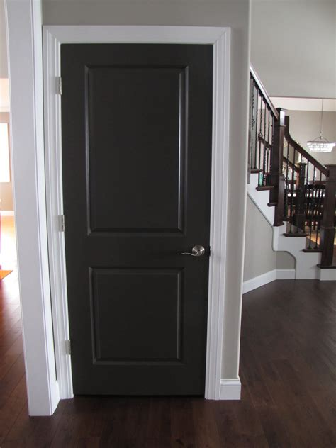 interior doors for homes the ideas for painting interior doors black above is used