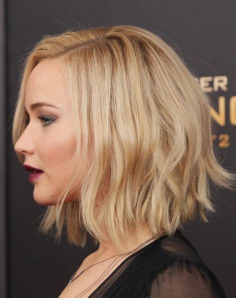 jennifer lawrence hair co or for two toned pixie actress jennifer lawrence hair detail attends the the