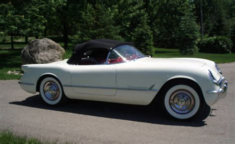 corvette made corvettes on ebay the 274th 1953 corvette made