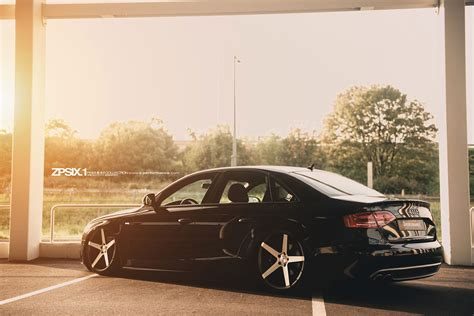 Audi Z Performance by Zp6 1 Concave Phantom Black Polished