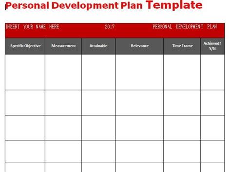 25 unique personal development plan template ideas on